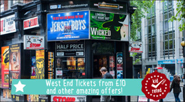 TOP THEATRE DEALS