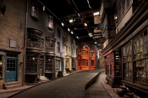 Diagon Alley at the Harry Potter Experience, an official K-Rated attraction © Warner Bros.