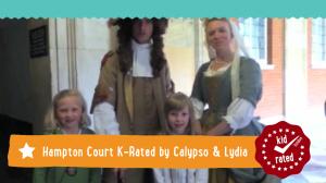 Calypso and Lydia K-Rate Hampton Court Palace.