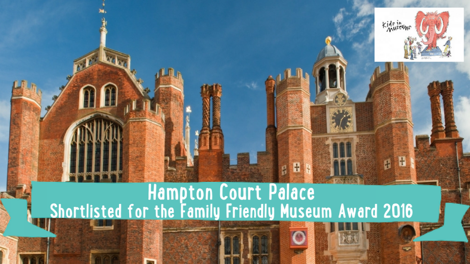 family friendly museum award hampton court palace kids in museums