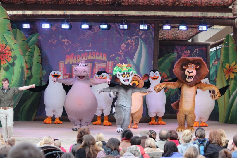 Madagascar Live An Officially K Rated Attraction C Chessington World Of Adventures