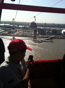 Emirates Air Line Greenwich KidRated London reviews kids family