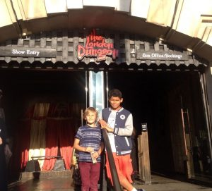 K-Raters Fin and Eliot visit Carnivale at the London Dungeon