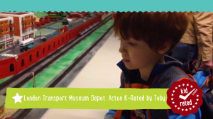 Toby K-Rates the London Transport Museum Depot