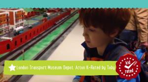 Toby K-Rates the London Transport Museum Depot