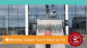 Tris K-Rates the Wembley Stadium Tour
