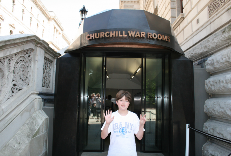 London churchill museum and cabinet war rooms reviews family deals - Churchill war cabinet rooms ...