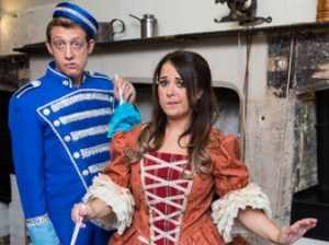 Dani Harmer as Cinderella at Theatre Royal Bath