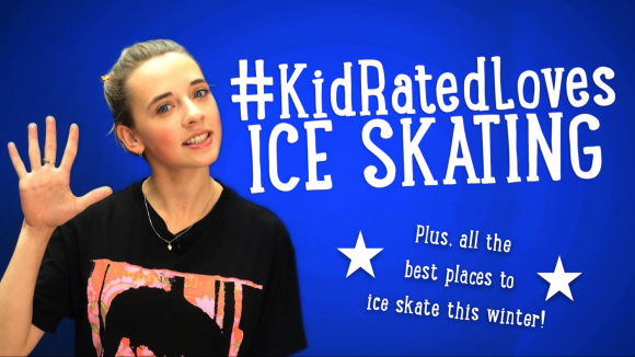 KidRatedLoves Ice Skating with where to skate this Christmas in London