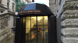 Churchill War Rooms Cabinet War Rooms WW2 KidRated London kids family days out historic museums