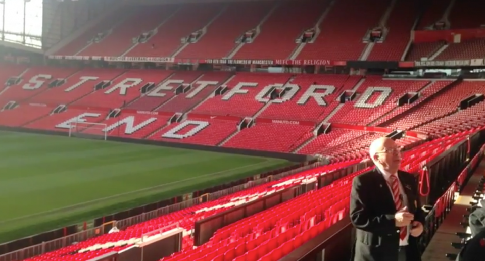 Manchester United's Old Trafford Stadium Tour Reviews and ...