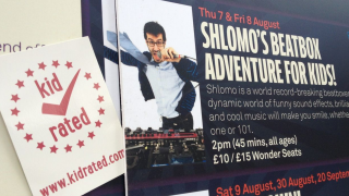 Shlomo Beatboxer London Entertainment Reviews by kids Kidrated