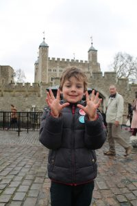 Oscar gives the Tower of London a K-Rating of 10/10