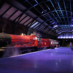 Harry potter Experience Warner Bros Studio Tour London Leavesden KidRated reviews Platform 9 3/4