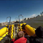 The bow of the Thames RIB Experience