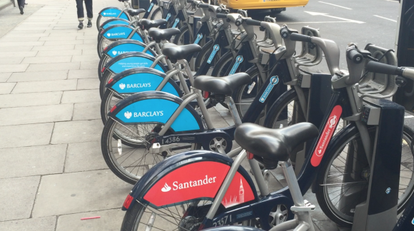 Boris Bikes Santander Cycles