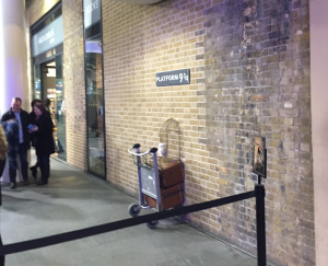 Platform 9 3/4 Harry Potter Kings Cross Emily's one day itinerary