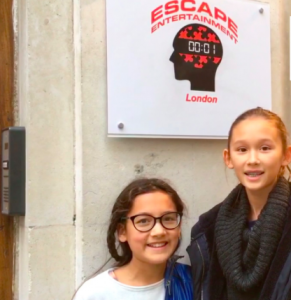 Escape Entertainment Escape Room as featured in 50 things for teenagers to do in London