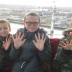 three boys review the emirates air line cable car london