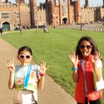 Hampton Court Easter Egg Trail gets full marks from Abi and Lauren