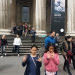 Abi & Lauren at the British Museum - score of 9