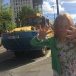 The London Duck Tour got full marks from Issy