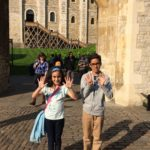 Tower of London gets 9 and 10 from Dylan and Lara