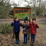 Frankie, Liliane and Monty give 10, 9 & 10 to Go Ape, Black Park