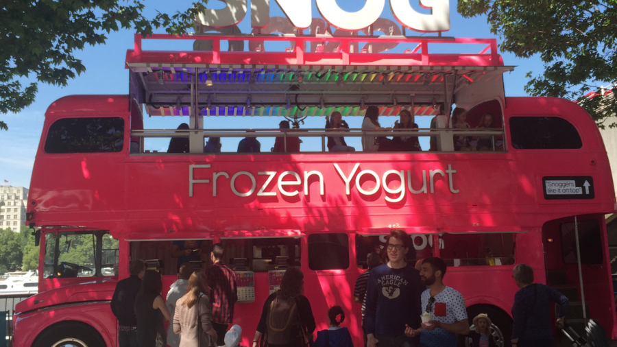 SNOG frozen yoghurt south bank southbank