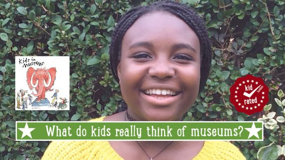 zarah kids in museums with logos