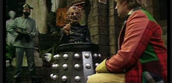 Davros meets Doctor Who