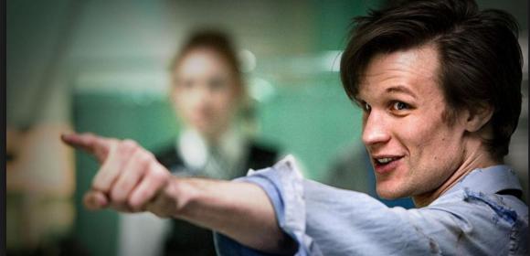 Matt Smith as the 11th Doctor Who