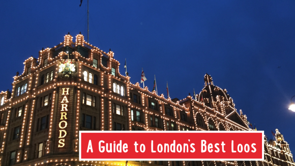 a guide to london's best loos