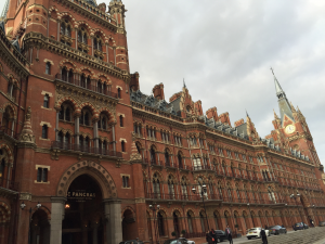 St Pancras Harry Potter London