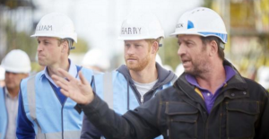 Nick Knowles Prince William Prince Harry DIY SOSb Best Days out