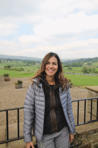 best days out Julia bradbury walking in the Malham Cove Yorkshire dales