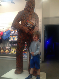 Chewbacca Jack Oscar Legoland Windsor Resort