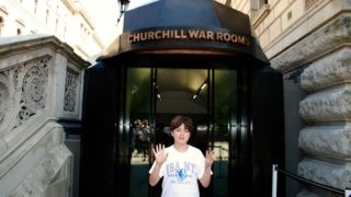boy reviews the churchill war rooms