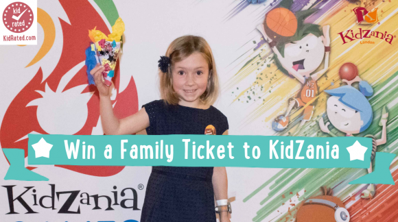win a family ticket to kidzania