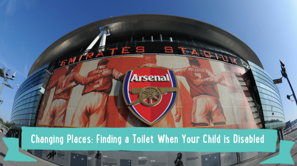 Changing Places: Finding a Toilet When Your Child is Disabled