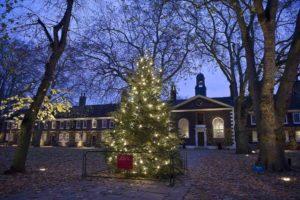 Geffrye Museum with Christmas tree London KidRated