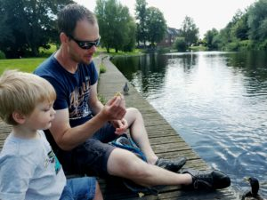 father and son at wensum park norwich uk kidrated any way to stay