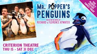 Mr Popper's Penguins Criterion Theatre