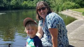 mummy blogger briony anyway to stay with son by lake kidrated