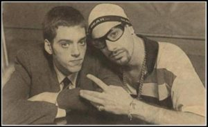 Iain Lee with Ali G