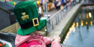 camden market St Patricks Day