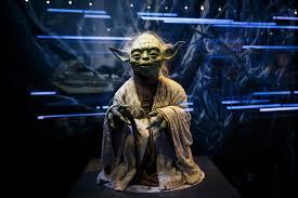 Yoda at Star Wars Identities at the O2