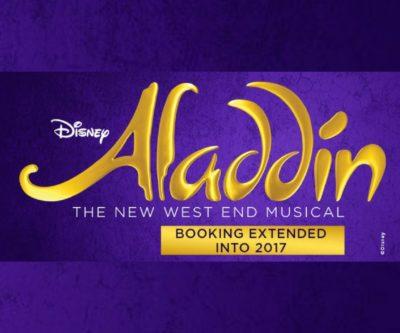 aladdin disney musical london west end