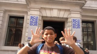 boy reviews the science museum london