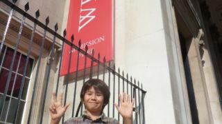 boy reviews the national gallery trafalgar square london